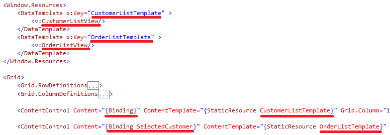 sample wpf application using mvvm