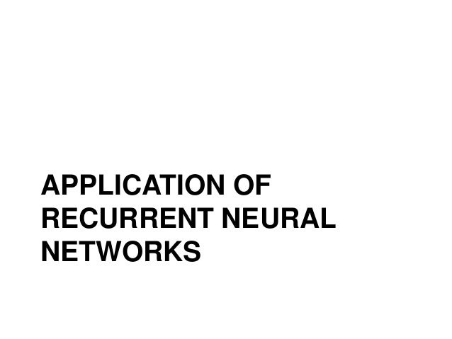 application of neural network ppt