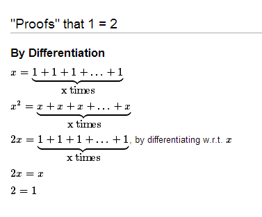 application of differentiation in computer science