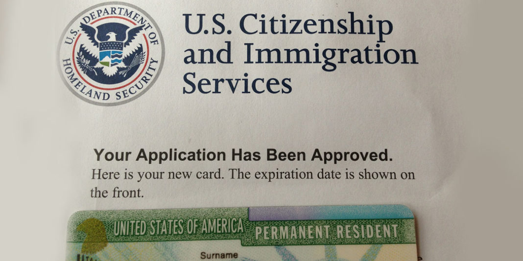 permanent resident application for parents