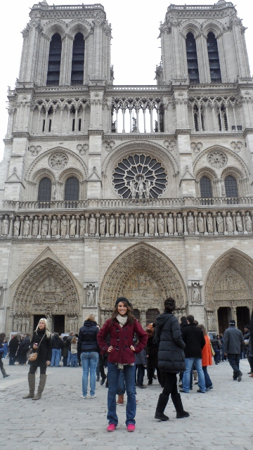 notre dame study abroad application