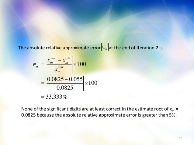 applications of numerical methods in real life ppt