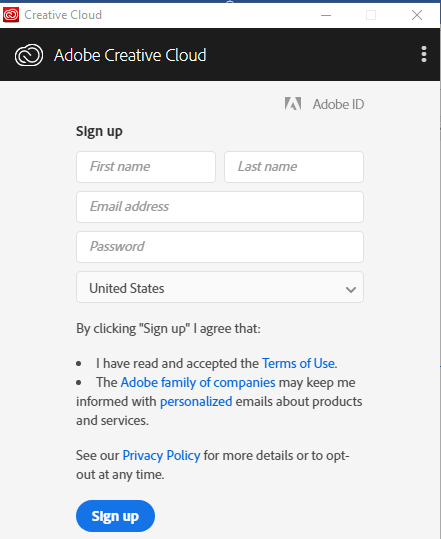 adobe creative cloud application manager