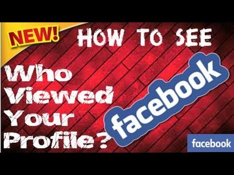 application to know who view my facebook profile