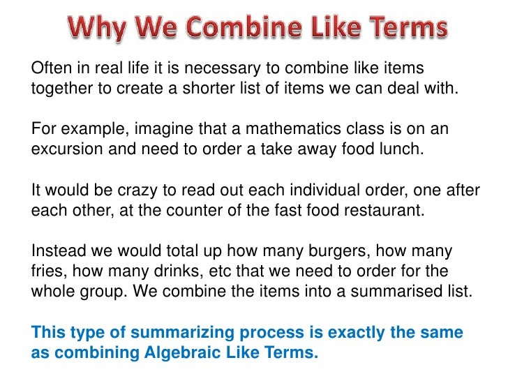 algebra applications in everyday life