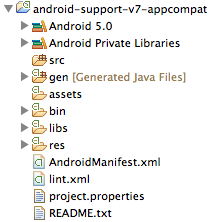 an android application project must reference