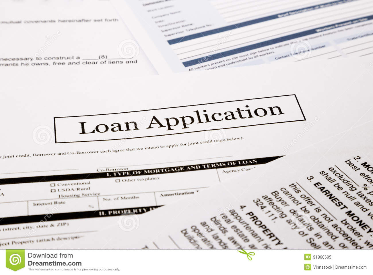 anz business loan application form