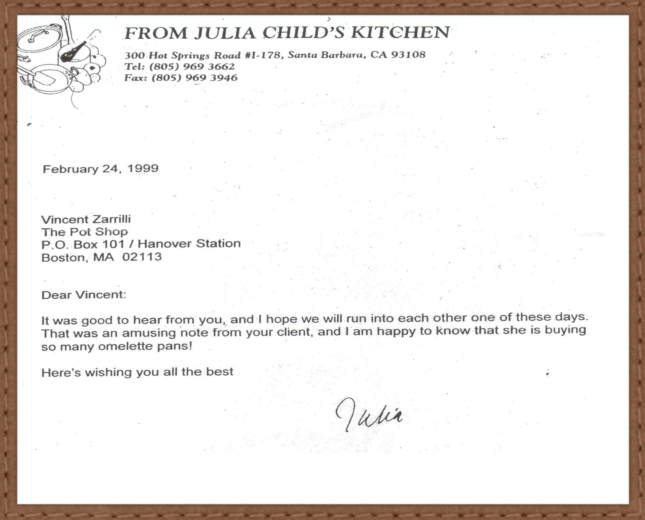 application letter for chef cook