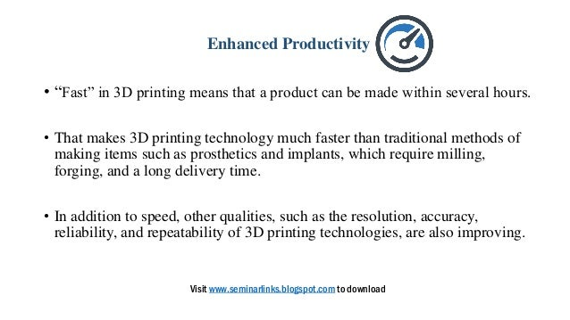 application of 3d printing in medicine
