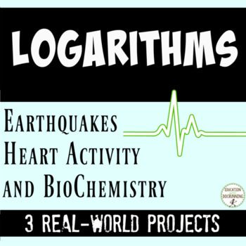 application of logarithmic functions in real life