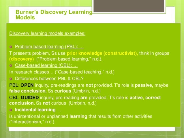 application of social learning theory