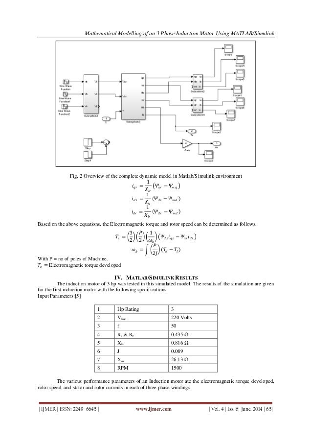 application of three phase induction motor