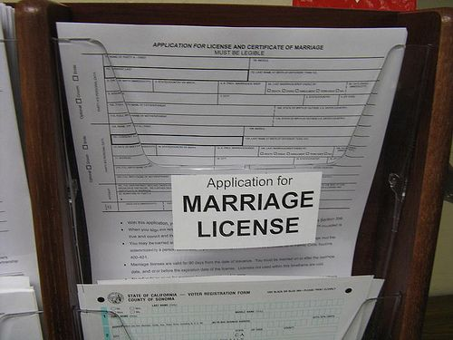 application to register a domestic relationship