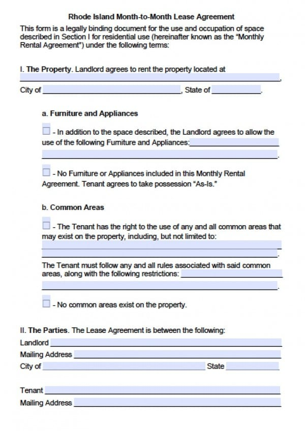 application to rent residential premises form 18