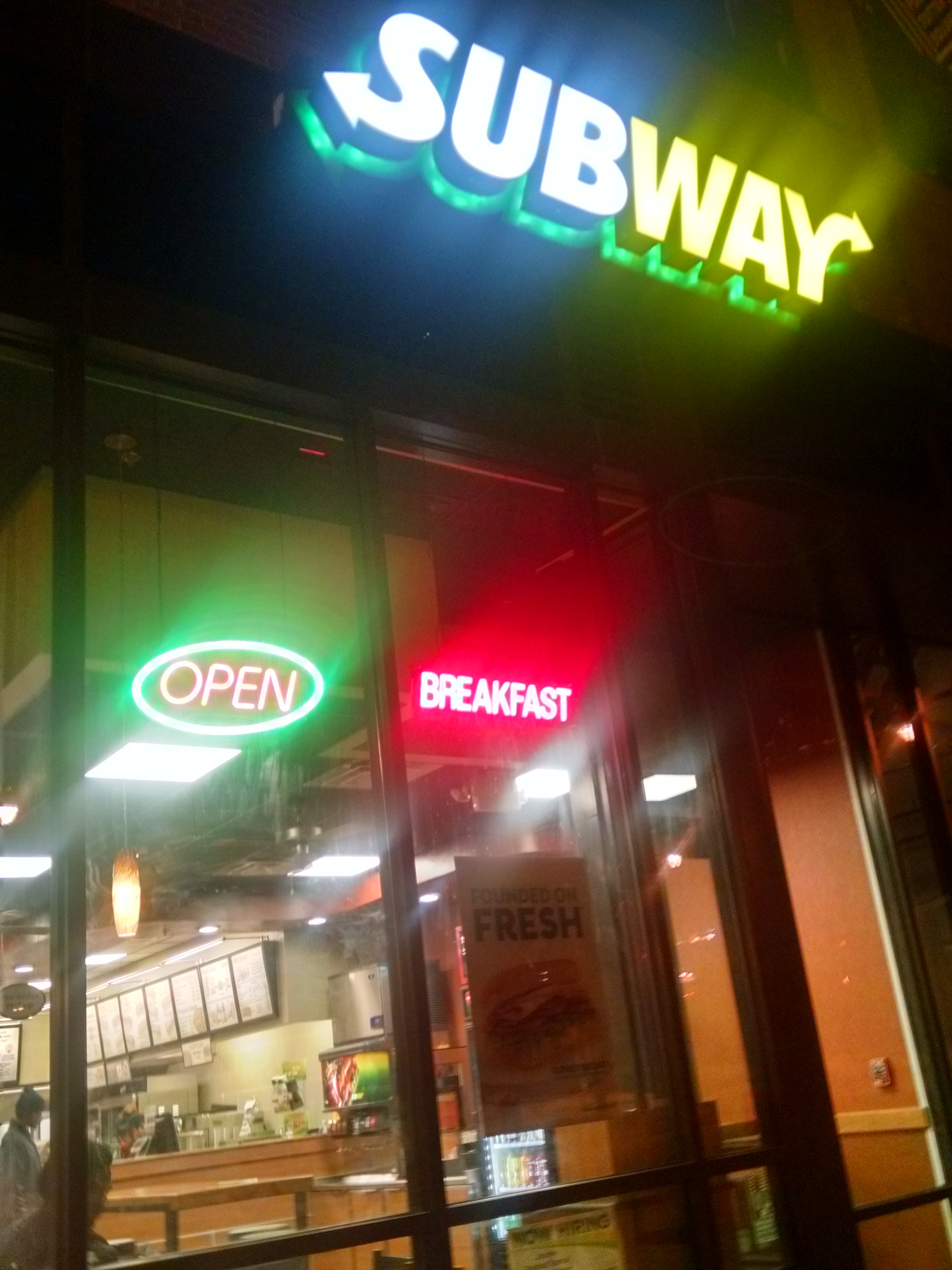 apply for subway online application