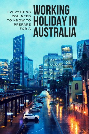 australia working holiday visa application for malaysian