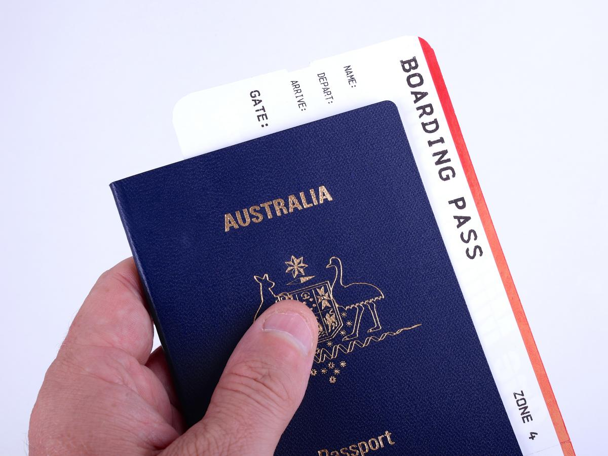 australian passport renewal application online