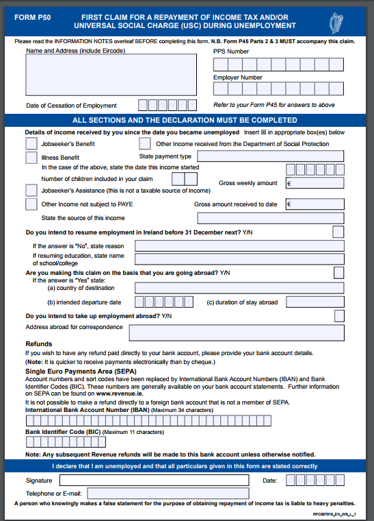 nsw tax file number application