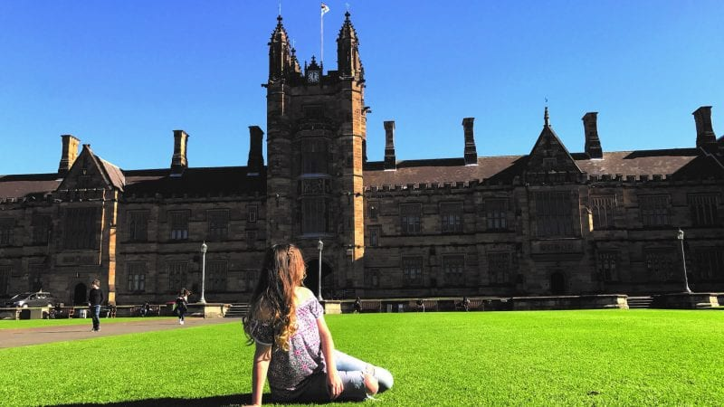 university of sydney study abroad application
