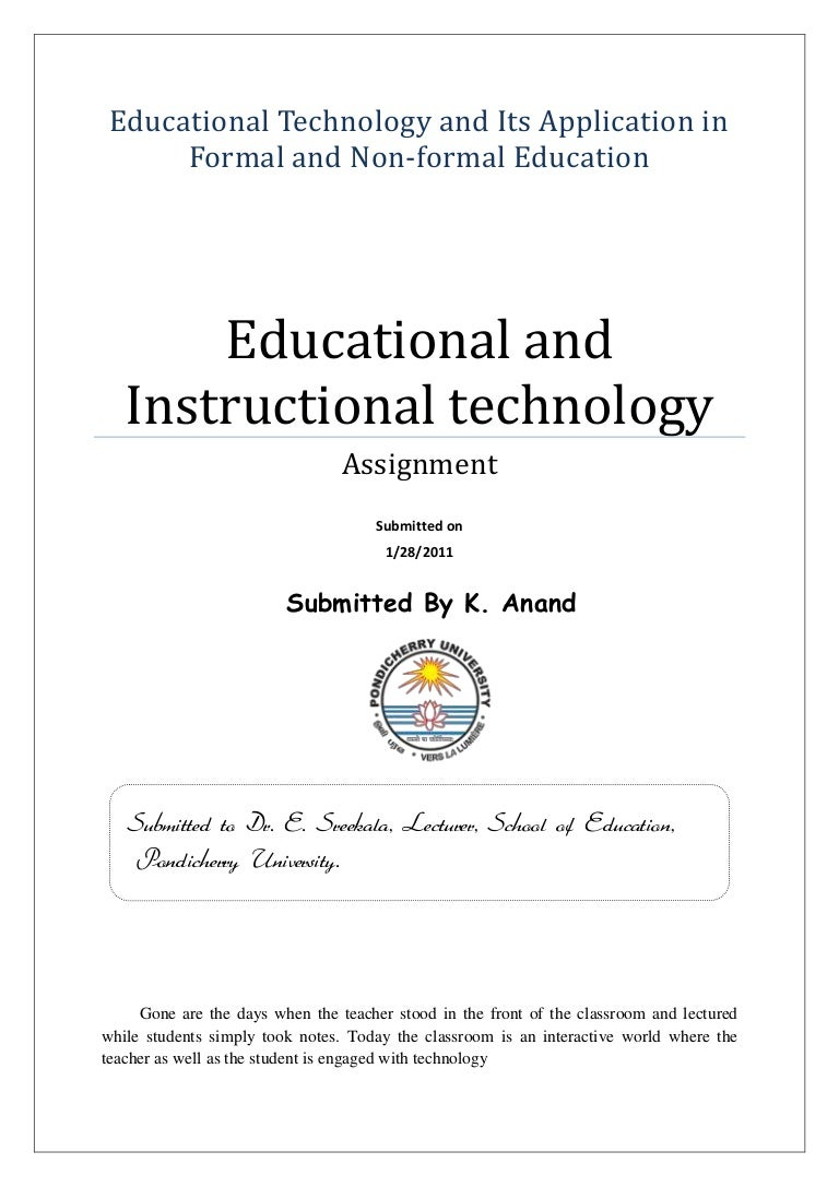 application of technology in education