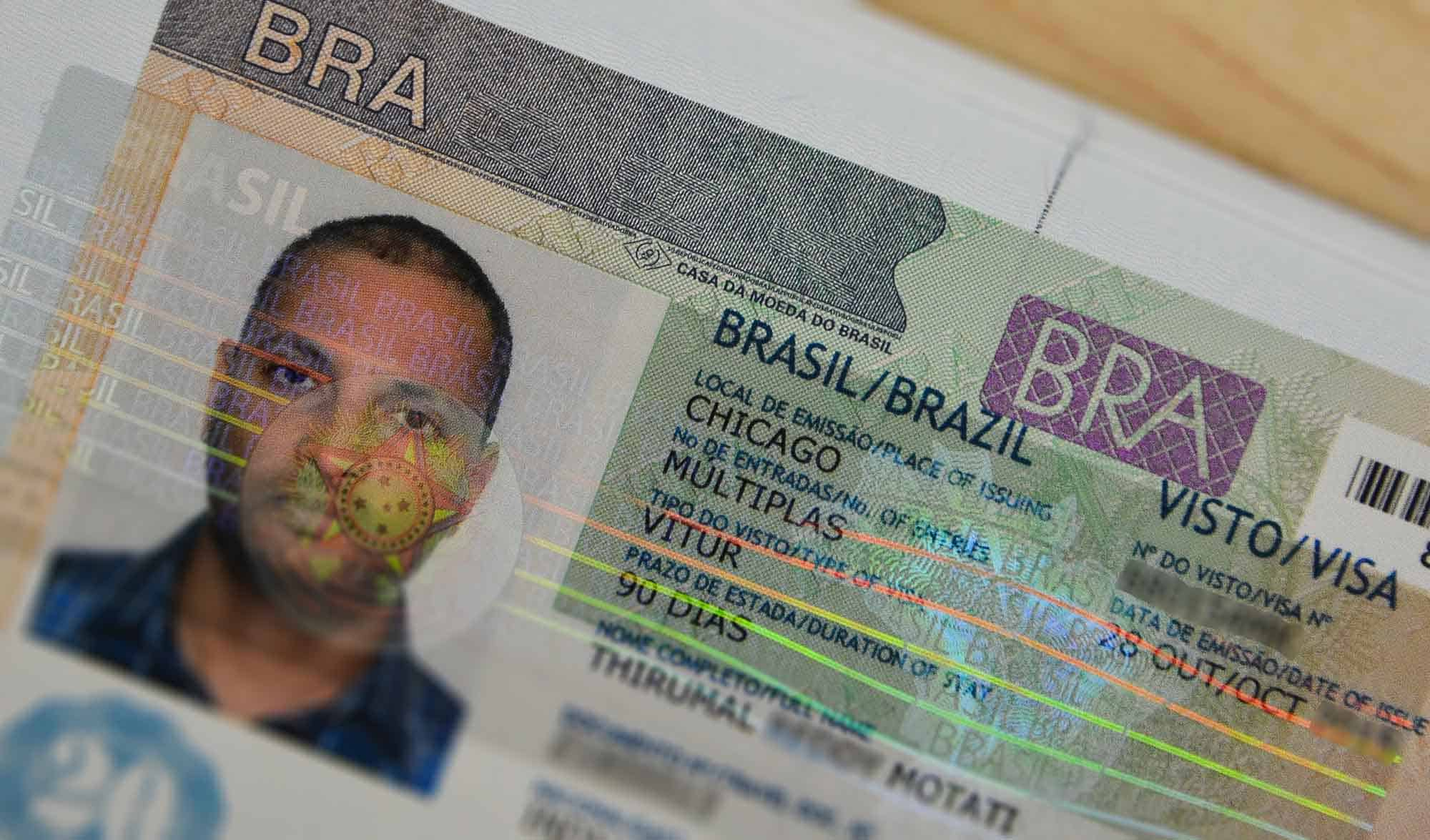 brazil consulate sydney visa application