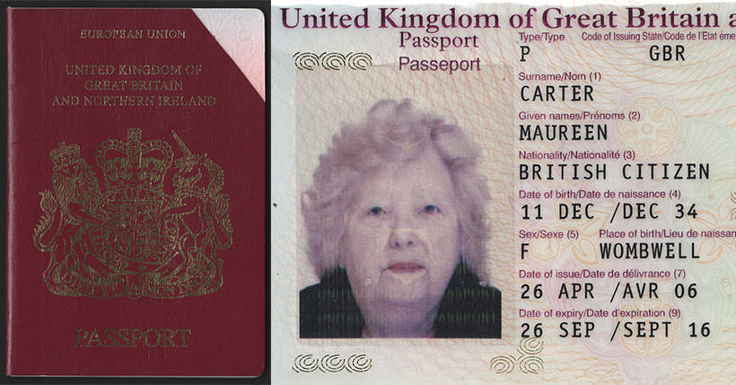 british by descent passport application
