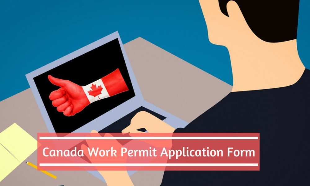 canadian working holiday visa application form
