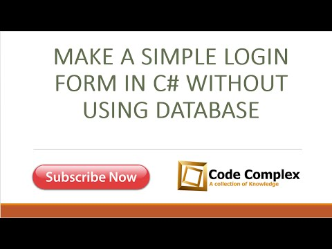 create database application without coding