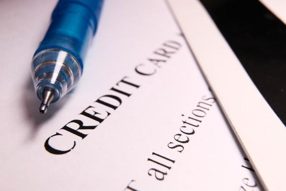 credit card application denied credit score