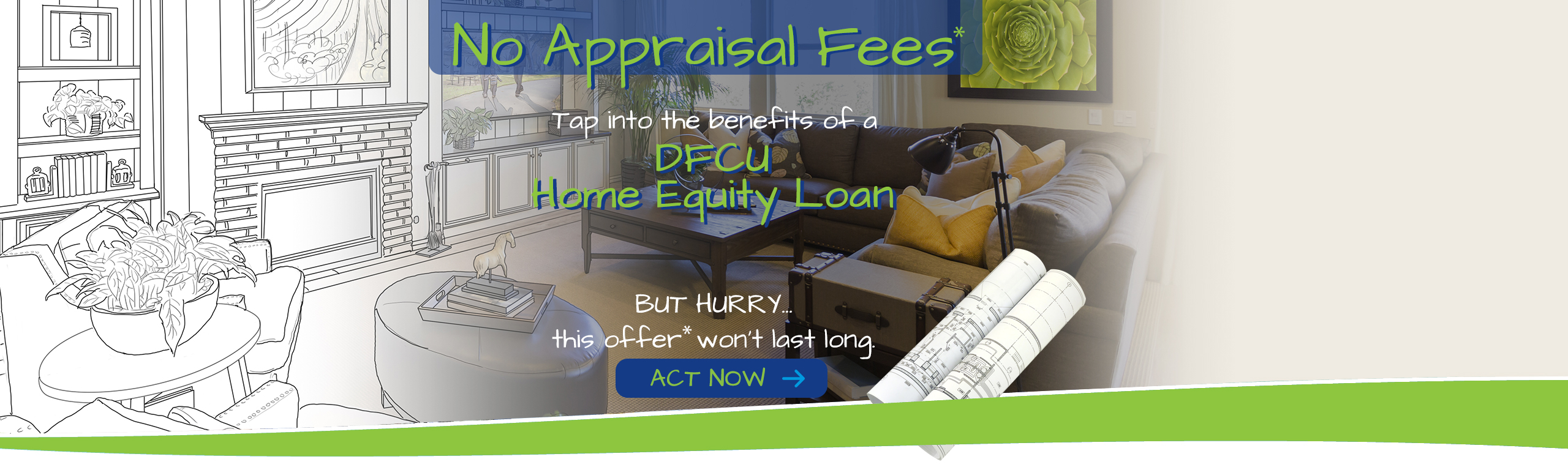 home loan no application fee