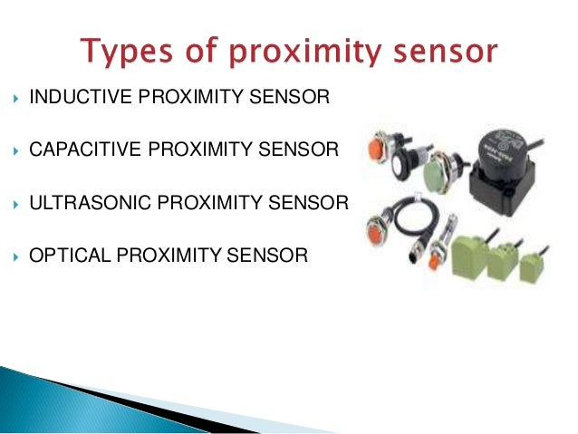 different types of sensors and their applications ppt