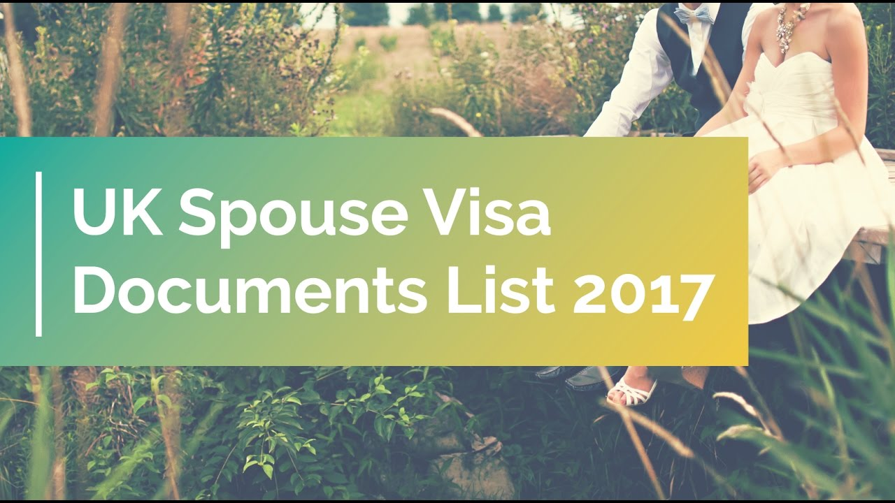documents required for uk visa application