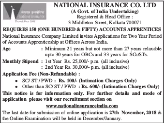 national insurance recruitment 2017 online application