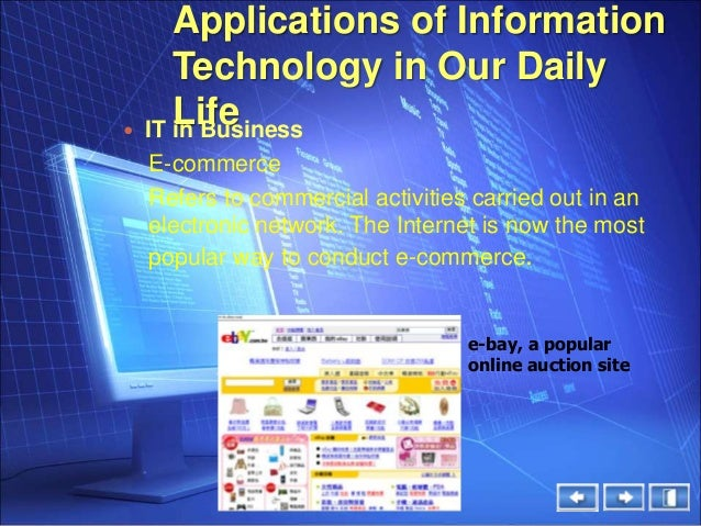 applications of electronics in daily life