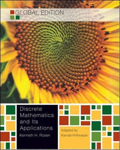 discrete mathematics and its applications 7th edition