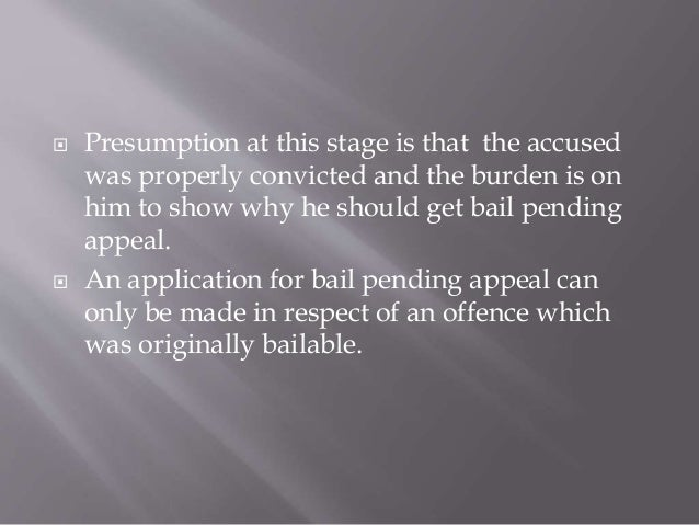 examples of exceptional circumstances in bail applications