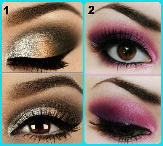 eyeshadow application for hooded eyes