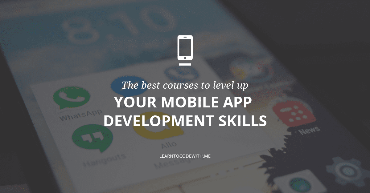 mobile application development training online