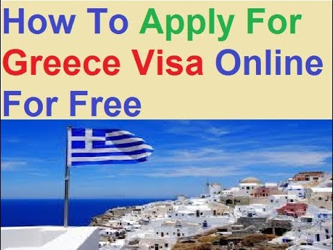 greece visa application form online