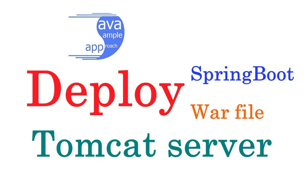 how to deploy a web application in tomcat server