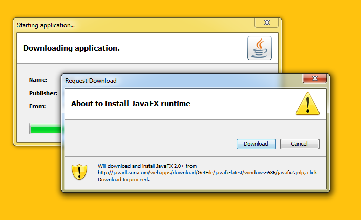 how to deploy javafx application