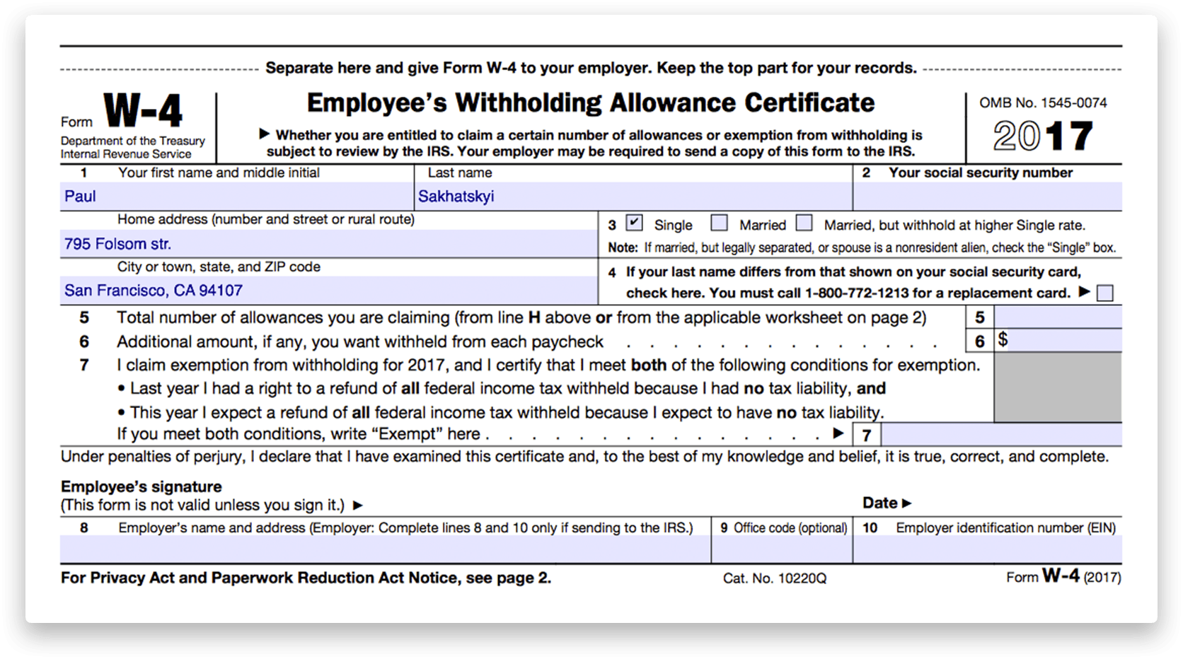 how to fill out a pdf application