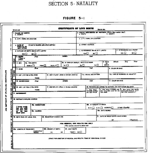 how to fill out birth certificate application