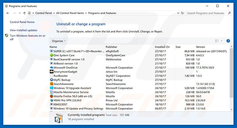 how to remove unwanted applications from computer