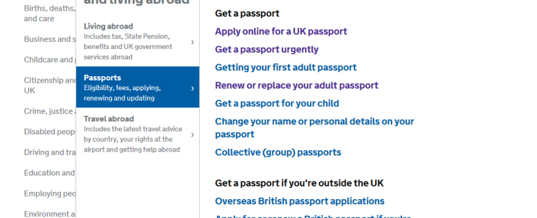 how to track my passport application