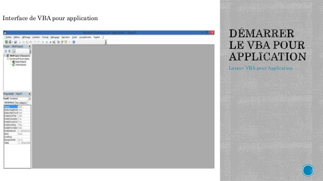 introduction to vba features and applications