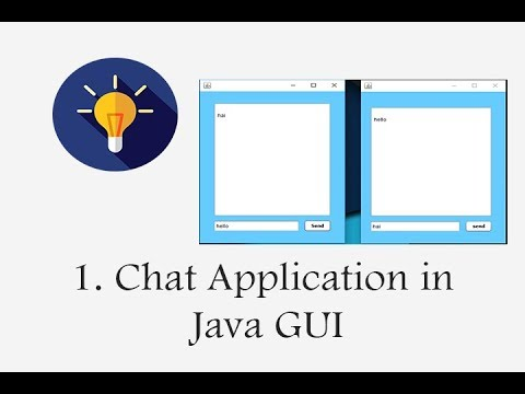 java code for chat application