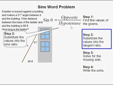 law of sines application problems examples
