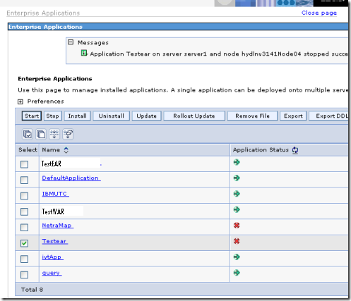 learn websphere application server administration