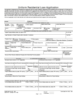 loan application form in word format